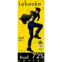 Zotter Labooko Dark 72% Chocolate 70g